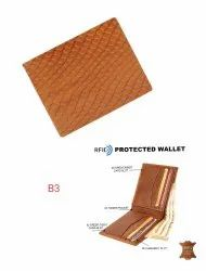 Genuine Leather Embossed Wallets