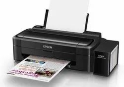 Colored Epson L130 Inkjet Printer, Supported Paper Size: A4