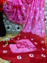 Shibhori Printed Linen Sarees