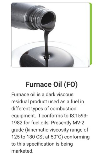 Furnace oil