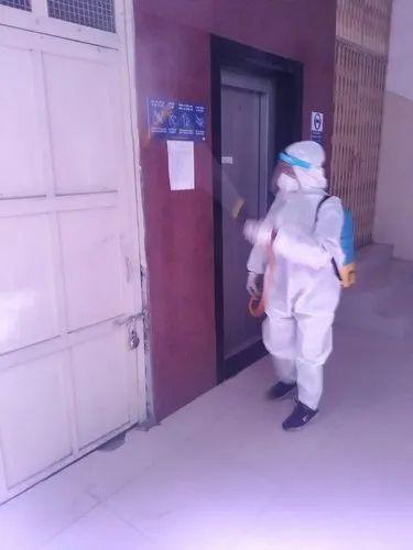 Society & Apartment Sanitization service