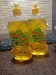 Montpier 500ml Lemon Dishwash Gel, For Dish Washing