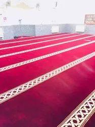 Turkey Red,green Mosque Carpet, For Masjit Floor