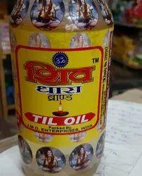 Shiv Dhara Til Oil, Packaging Type: Plastic Bottle, Packaging Size: 1 litre