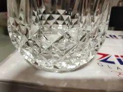 Transparent Crystal Juice Glasses