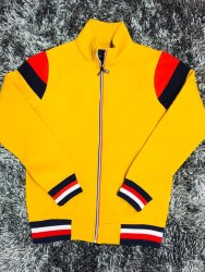 SANHOK Zipper Fleece Jacket, Size: m to xxl