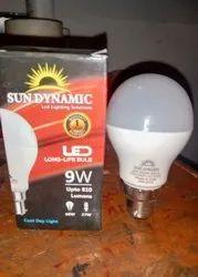 Aluminum 9 w LED Bulb