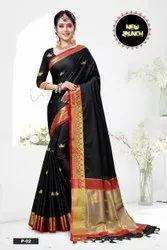 Rich Cotton Silk Saree