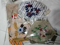 Hand Work Cotton Mask