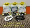 Micro Usb Data Cable, Cable Size: 1m