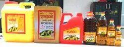 Rajdhani Kachi Ghani Mustard Oil, Packaging Type: Plastic Bottle