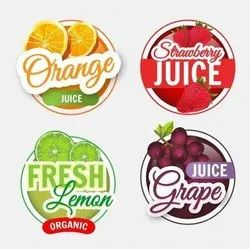 Laminated Eco-friendly paper Fruit And Vegetable Labels, For Packaging