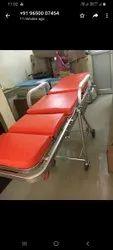 Folding Ambulance Stretcher Cum Wheelchair, Aluminium