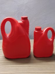 Edible Oil Red HDPE Jerry Can