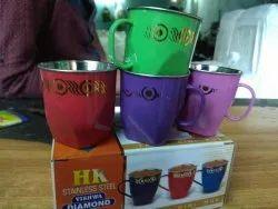 Steel Tea Cups