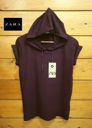 Cotton Plain Men Half Sleeve T Shirt, Size: M L XL XXL