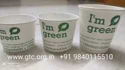 GTC Paper Eco Friendly Coffee Cup, Capacity: 110, 140 & 200 Ml