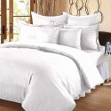 Satin Stripe Bed Sheet