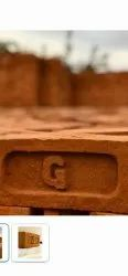 Table Clay Red Bricks, Size: 4