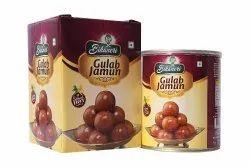 YFP Bikaneri Sugar Gulab Jamun Tin Pack 1Kg, Packaging Type: Tin Container