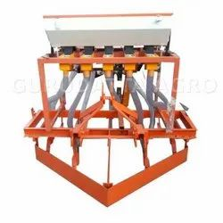 Mild Steel Mini Tractor Seed Drill, For Agriculture