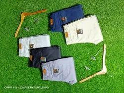 Five Colour Casual Wear Narrow Fit Cotton Trouser
