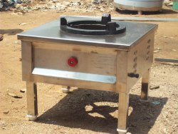 Stainless steel Gas Stove Burner, Model Name/Number: Avs, Size: 1 Feet