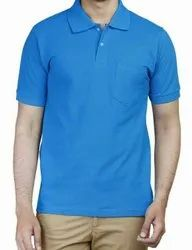 Color Plain Mens Polo T Shirts