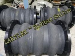 ZAKFLEX Rubber Expansion Bellow in India, Size: 50 NB To 2000 NB