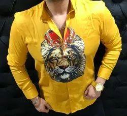 Cotton Full Designer Shirt