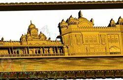 Golden temple Mural