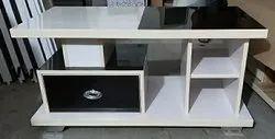 Steelwood Wooden Centre Table Higloss UV Board