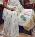 Handloom Ghicha Jamdani Sarees