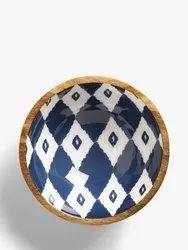 Wooden Enamel Bowl