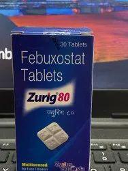 Zurig Febuxostat 80 Mg Tablets