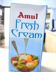 White Amul Fresh Cream, For Restaurant, 1 Box