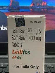 Ledifos Ledipasvir 90mg And Sofosbuvir 400 Mg