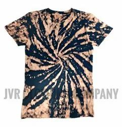 Jvr Cotton Tie And Dye T Shirt, Age Group: 15 To 60