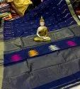 Handloom Sarees With Woven Temple Border