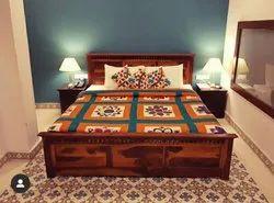 Jodhpurcraft Sheesham Solid Wood Bed, Size: 6ftx6.5ft