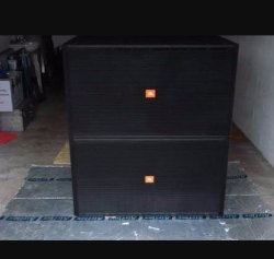 Double Bass Speaker Cabinet
