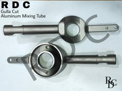 Aluminium Gulla Cut Mixing Tube, Model Name/Number: Regulor Delhi Type