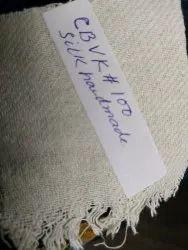44-45 Natural colour Handmade Silk Fabric, GSM: 150