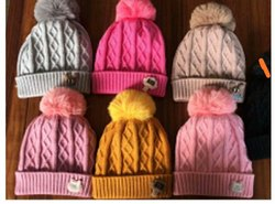Girls Woolen Cap