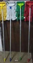 Cotton Wet Mop Complete Set colour 6, For Floor Cleaning