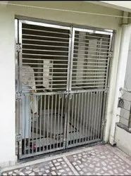 Silver Stainless Steel Safety Door Grill