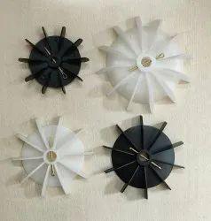 Polished Monoblock Water Pump PVC Cooling Fan