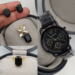 Party Wear Round Branded Watches For Ladies