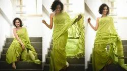 Plain Khesh Cotton Sarees