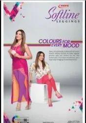 Churidar Plain Ladies Leggings